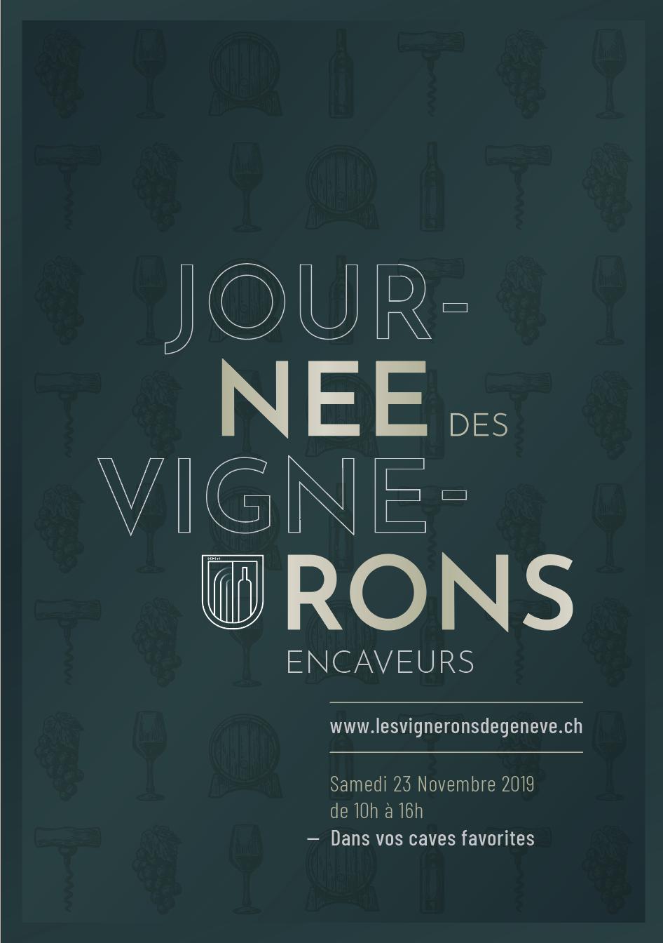 Flyer Journée des Vignerons - Recto