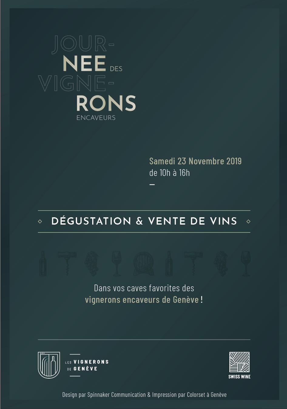 Flyer Journée des Vignerons - Verso