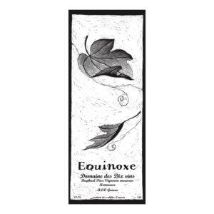 domaine dix vin hermance piuz équinoxe