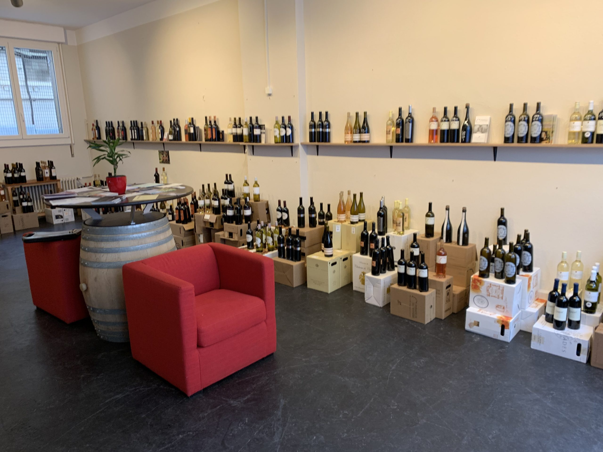 Boutique vignerons plainpalais